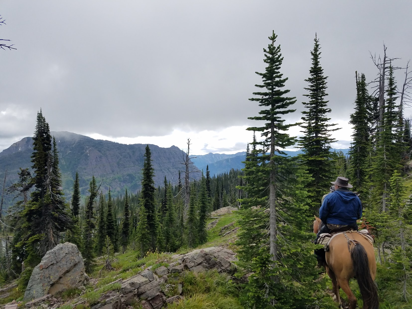 Riding in the Bob Marshall Wilderness