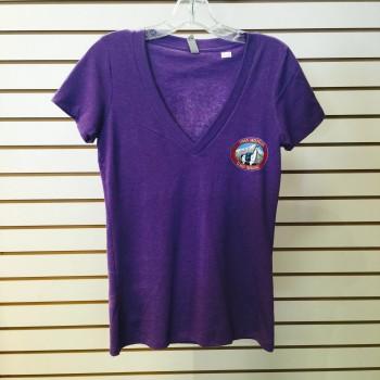 Llama Trek V-Neck T-shirt