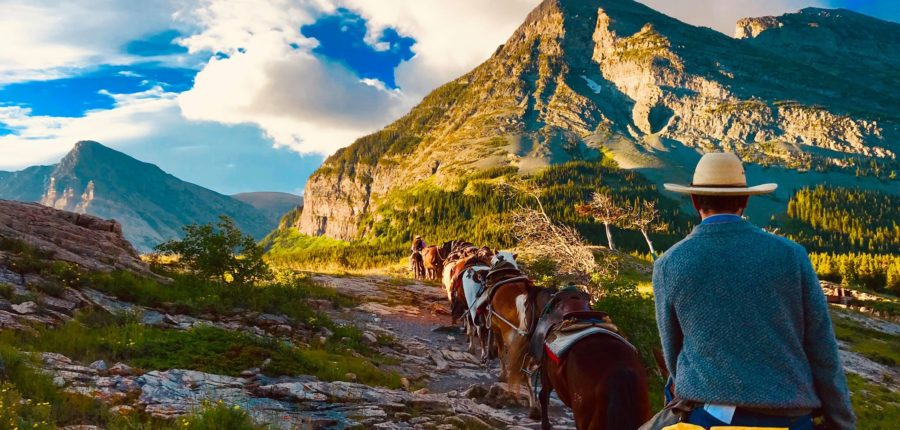 Glacier National Park Trail Rides