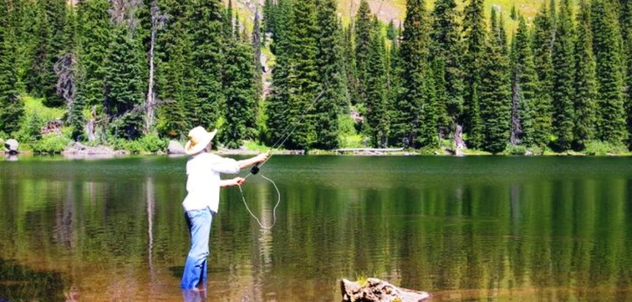 Montana guided fishing hunting trips swan mountain for Montana fishing trips
