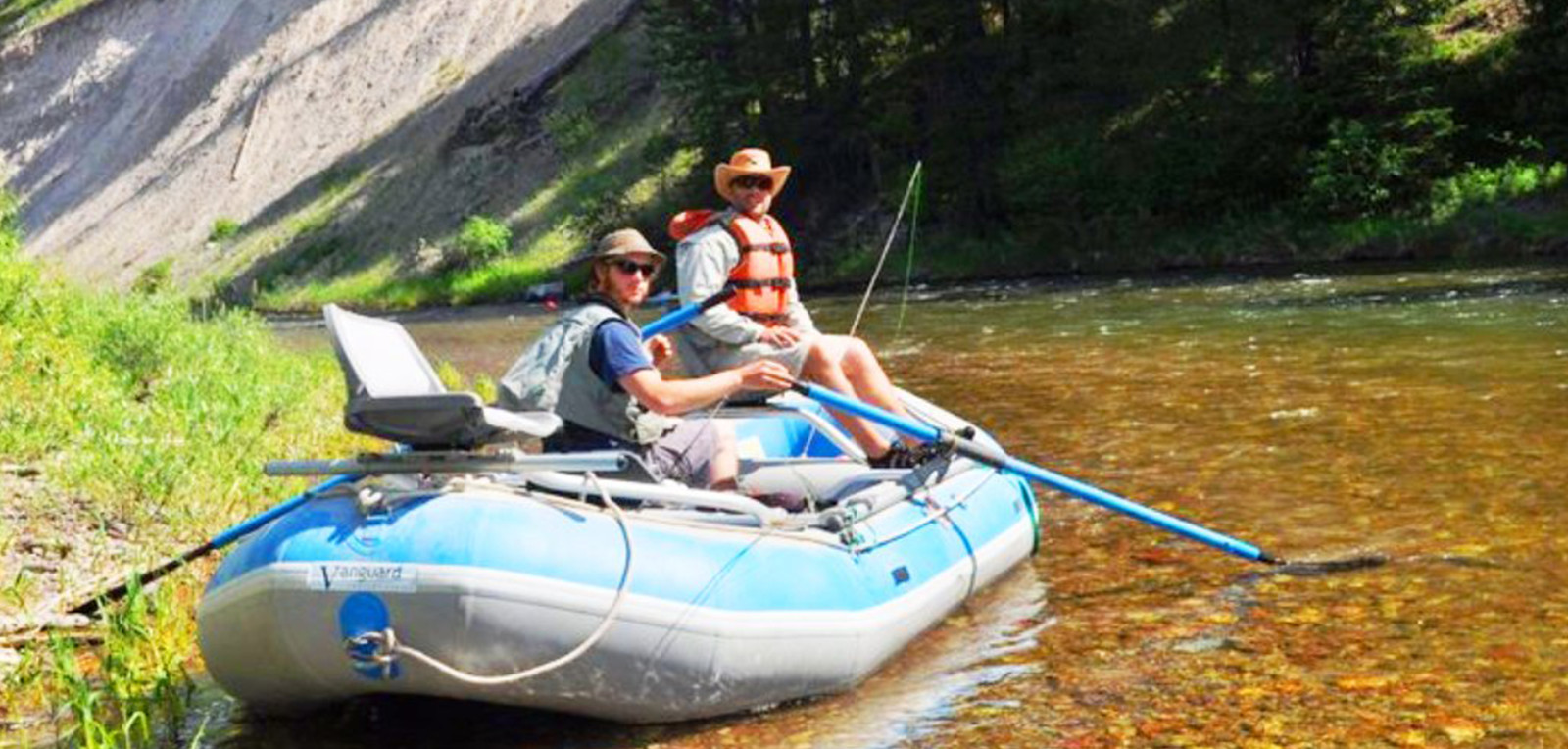 Montana fly fishing float trips for Northwest fly fishing outfitters