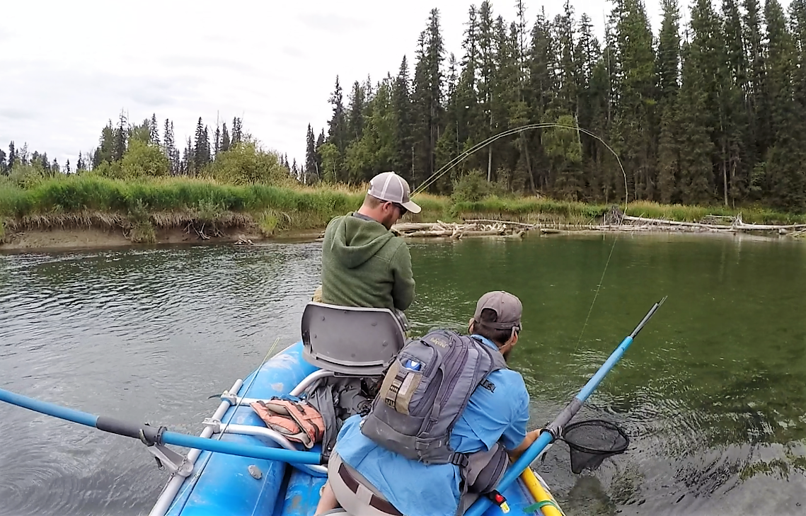 Montana float and fishing trips on the Swan River, catch cutthroat trout
