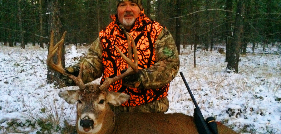 Montana Guided Whitetail Deer Hunting