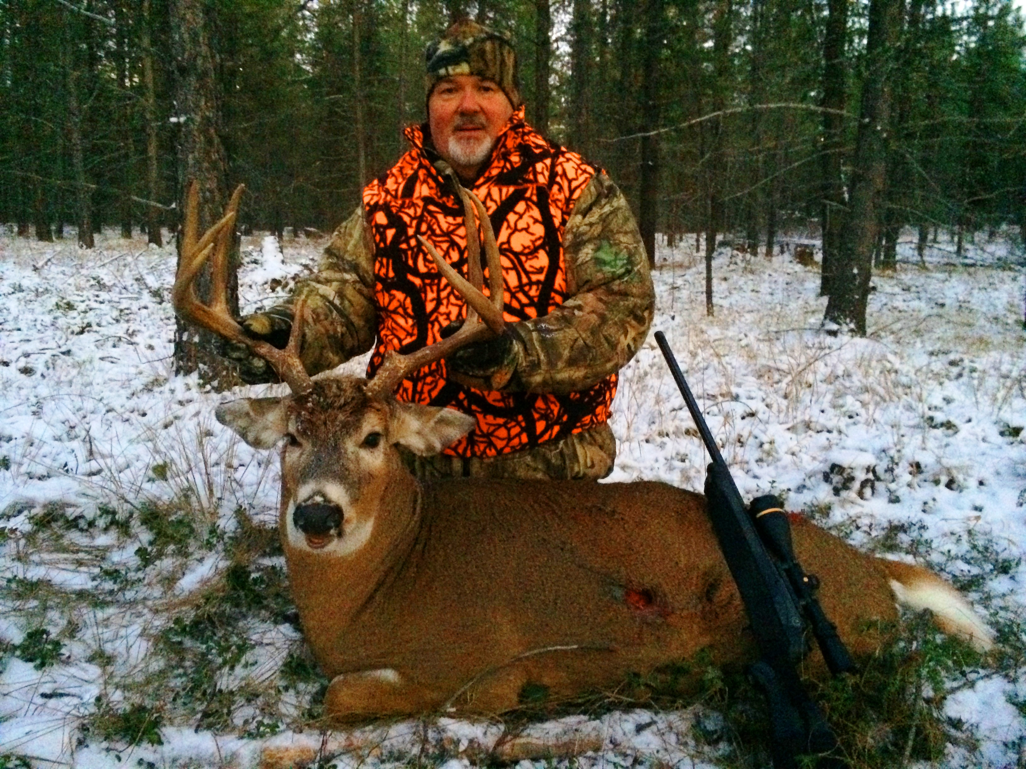 Whitetail Hunting 2014 - Swan Mountain Outfitters